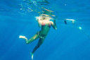 Title: Bree Underwater Location: Caribbean Photo Of: stock Type: Underwater