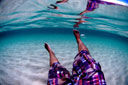 Title: Surface Reflection Location: South Pacific Photo Of: stock Type: Underwater